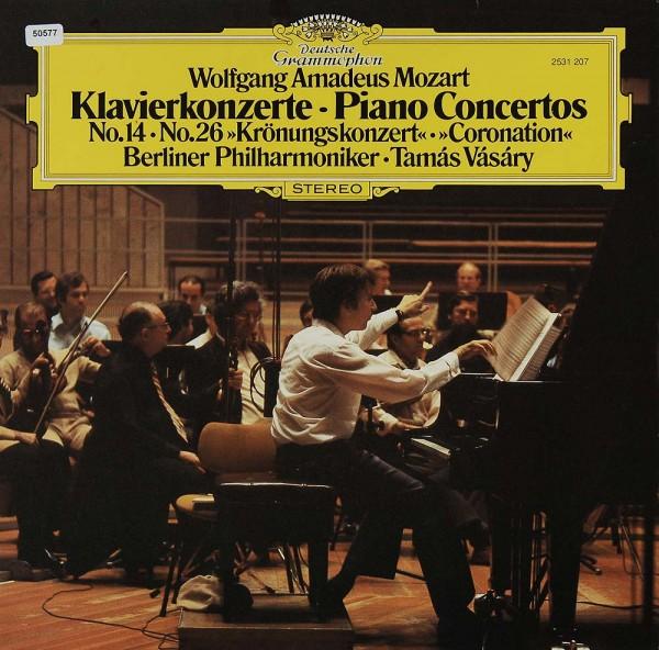 Mozart: Klavierkonzerte No. 14 & No. 26