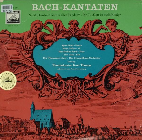 """Johann Sebastian Bach: Bach - Kantaten Nr. 51 """"Jauchzet Gott in Allen Landen"""""""