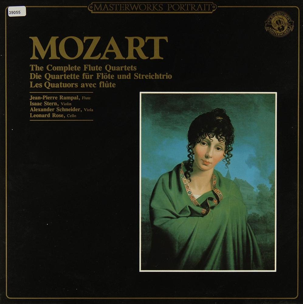 mozart the complete flute quartets fl ten oboen holzbl ser klassik gebrauchte lps und cds. Black Bedroom Furniture Sets. Home Design Ideas