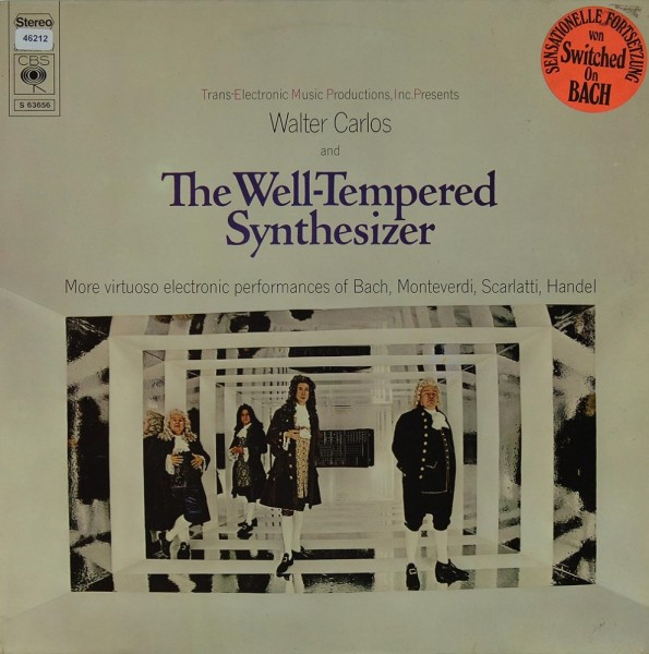 Carlos, Walter: The Well-Tempered Synthesizer