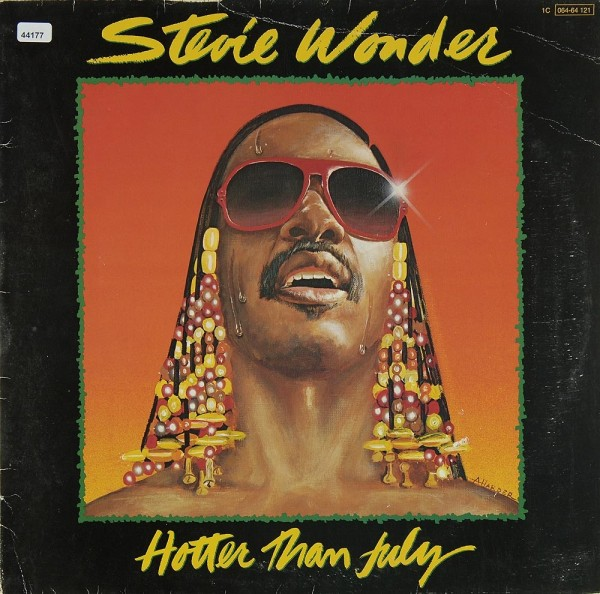 Wonder, Stevie: Hotter than July