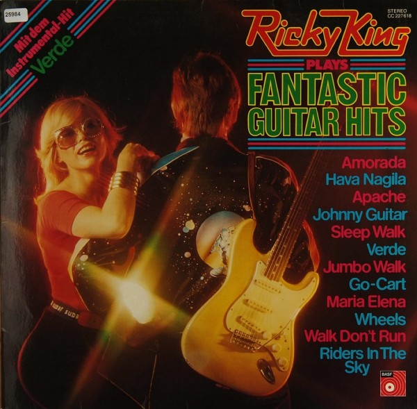King, Ricky: Ricky King plays Fantastic Guitar Hits