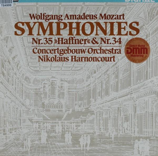Wolfgang Amadeus Mozart - Concertgebouworkes: Symphonies Nr.35 »Haffner« & Nr.34