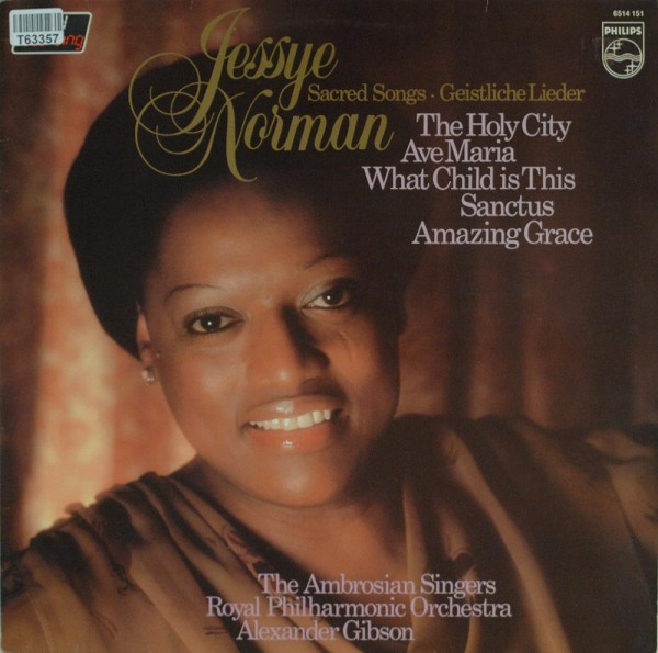 Jessye Norman / The Ambrosian Singers / The Royal Philharmonic Orchestra: Sacred Songs - Geistliche