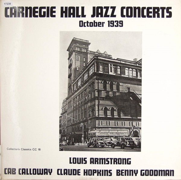 Various: Carnegie Hall Jazz Concert October 1939