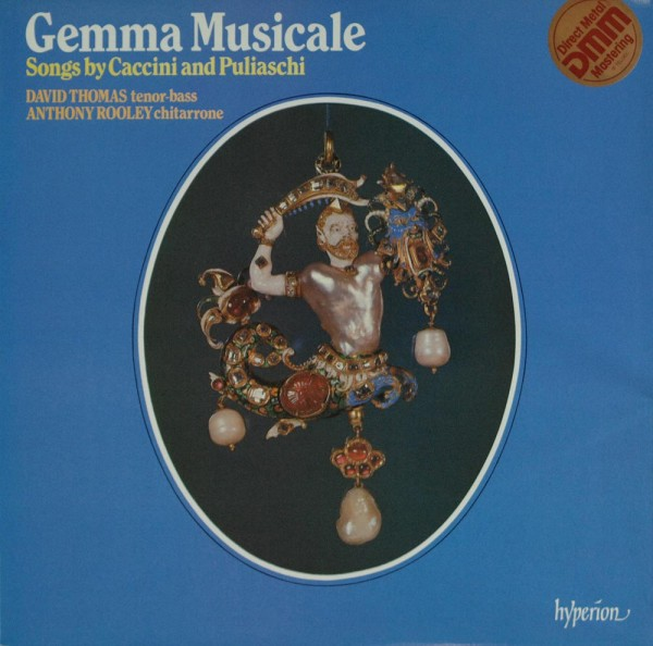 Giulio Caccini And Giovanni Puliaschi - Dav: Gemma Musicale (Songs By Caccini And Puliaschi)