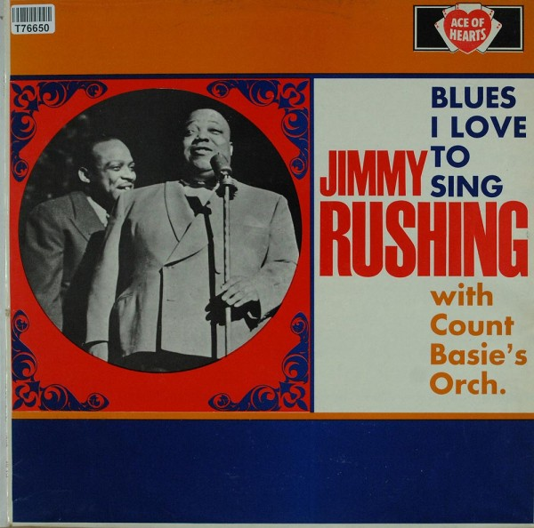 Jimmy Rushing With Count Basie Orchestra: Blues I Love To Sing
