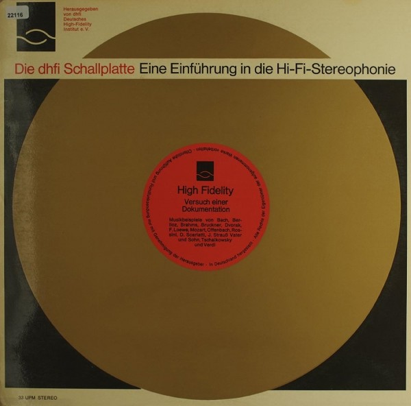 Various: Eine Einführung in die Hi-Fi-Stereophonie