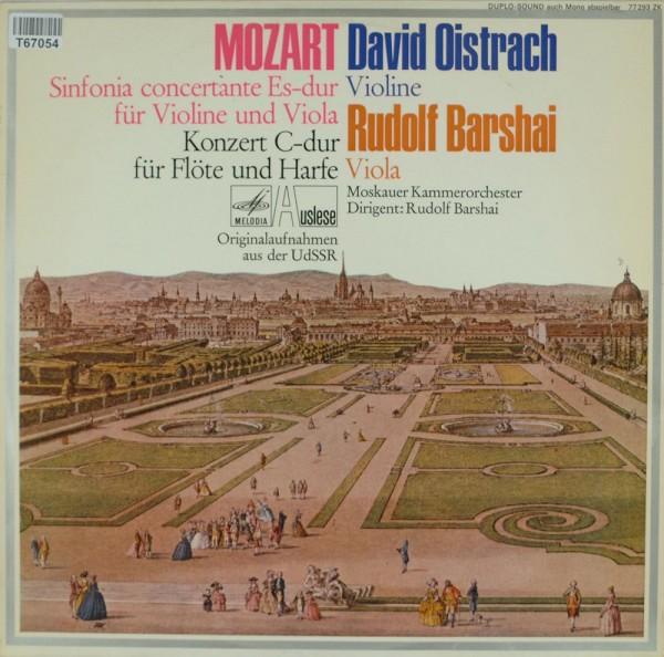 Wolfgang Amadeus Mozart, David Oistrach, Ru: Sinfonia Concertante Es-Dur Für Violine Und Viola, Konz