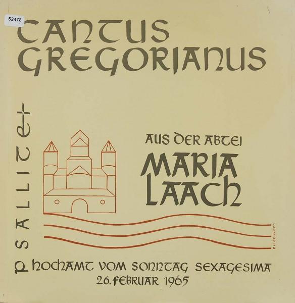 Verschiedene: Cantus Gregorianus - Hochamt Sexagesima M. Laach