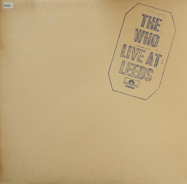 Who, The: Live at Leeds