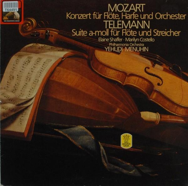 Wolfgang Amadeus Mozart, Georg Philipp Tele: Mozart - Konzert Für Flöte, Harfe Und Orchetser / Telem