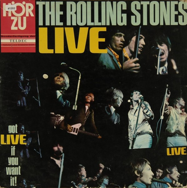 Rolling Stones, The: Got Live if you want it!