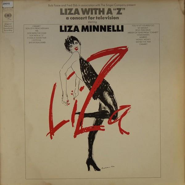 """Minnelli, Liza: Liza with a """"Z"""""""