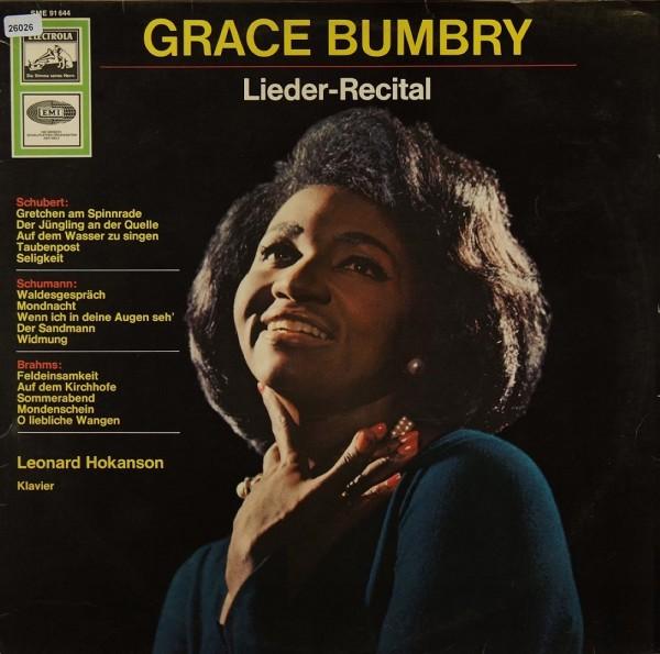 Bumbry, Grace: Lieder-Recital