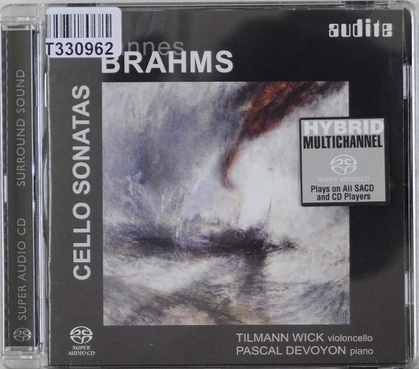 Johannes Brahms - Pascal Devoyon, Tilmann Wi: Cello Sonatas