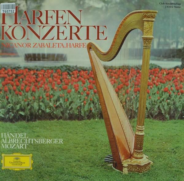 Georg Friedrich Händel, Johann Georg Albrec: Harfenkonzerte
