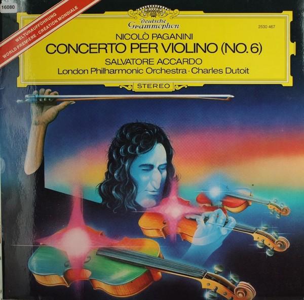 Paganini: Violinkonzert Nr.6 -Salvatore Accardo