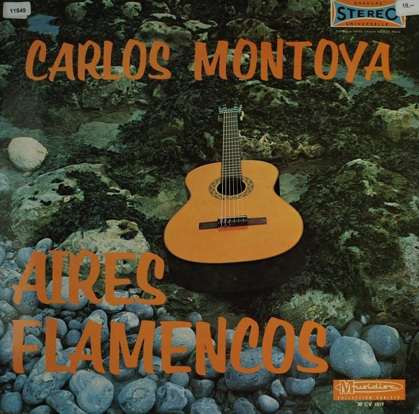 Montoya, Carlos: Aires Flamencos