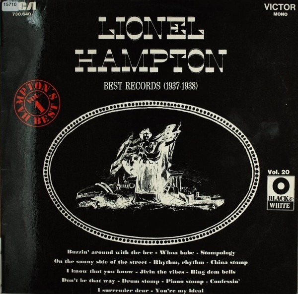 Hampton, Lionel: Best Records Vol. 1 (1937-1938)