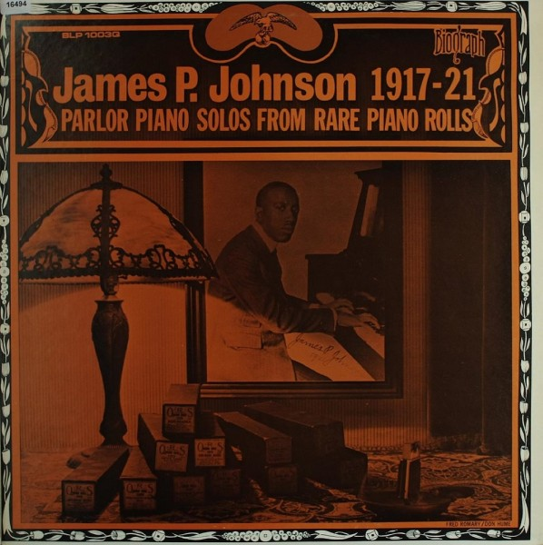 Johnson, James P.: 1917-21 (Parlor Piano Solos)