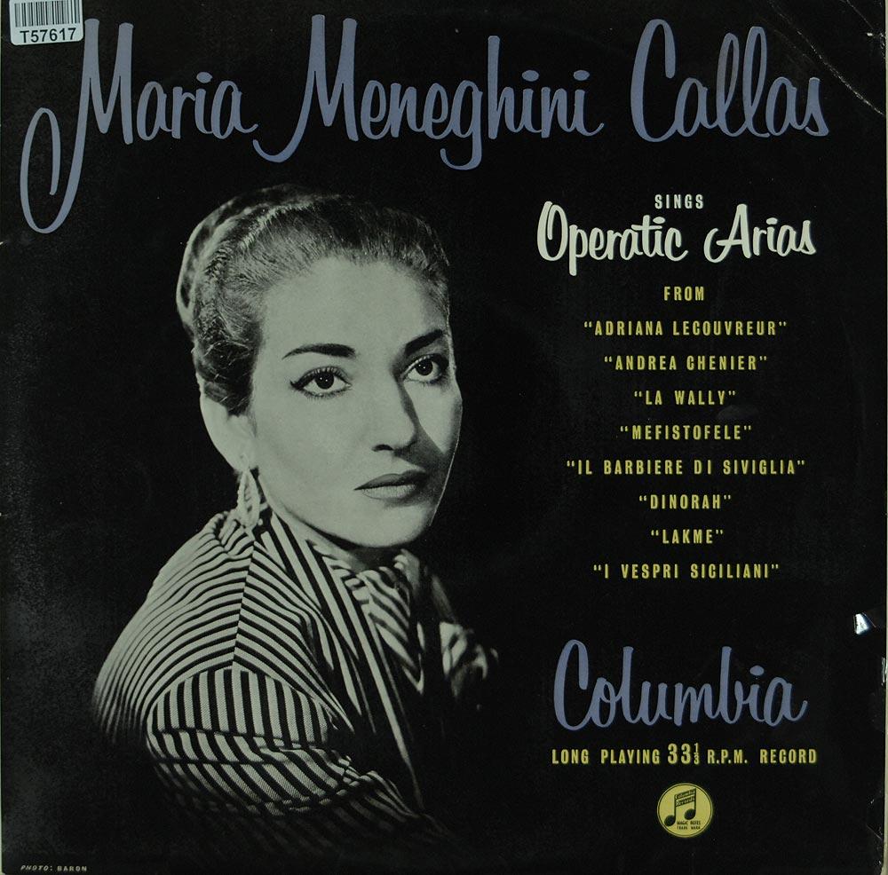 maria callas sings operatic arias oper operette klassik gebrauchte lps und cds kaufen. Black Bedroom Furniture Sets. Home Design Ideas