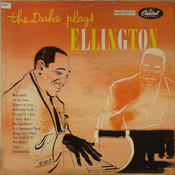 Ellington, Duke: The Duke plays Ellington