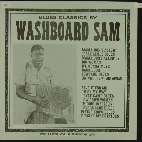 Washboard Sam: Blues Classics by Washboard Sam