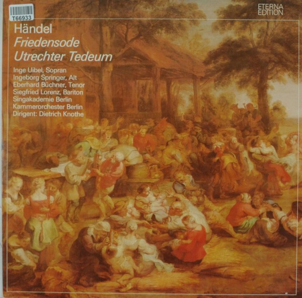 Georg Friedrich Händel: Friedensode / Utrechter Tedeum