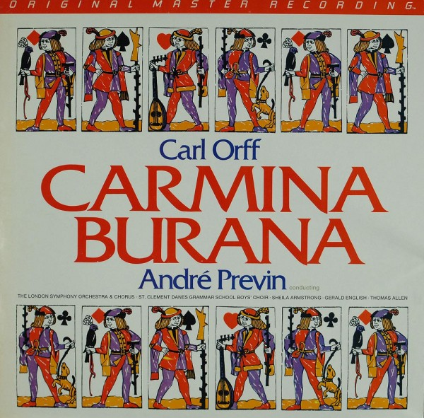 Carl Orff / André Previn, The London Symphony Orchestra: Carmina Burana
