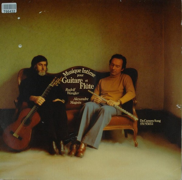 Rudolf Wangler / Alexandre Magnin: Musique Intime Pour Guitare Et Flute