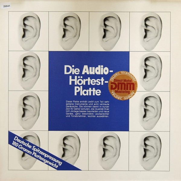 Verschiedene: Die Audio-Hörtest-Platte