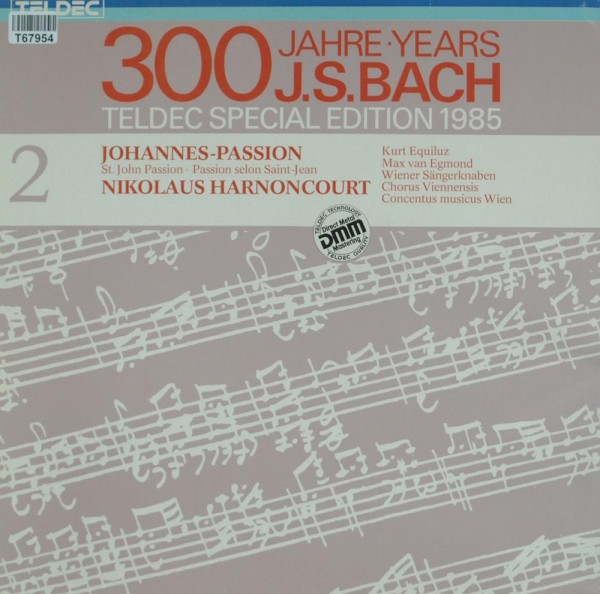 Johann Sebastian Bach - Nikolaus Harnoncour: Johannes-Passion • St. John Passion • Passion Selon Sai