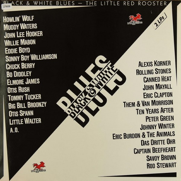 Various: Black & White Blues - The Little Red Rooster