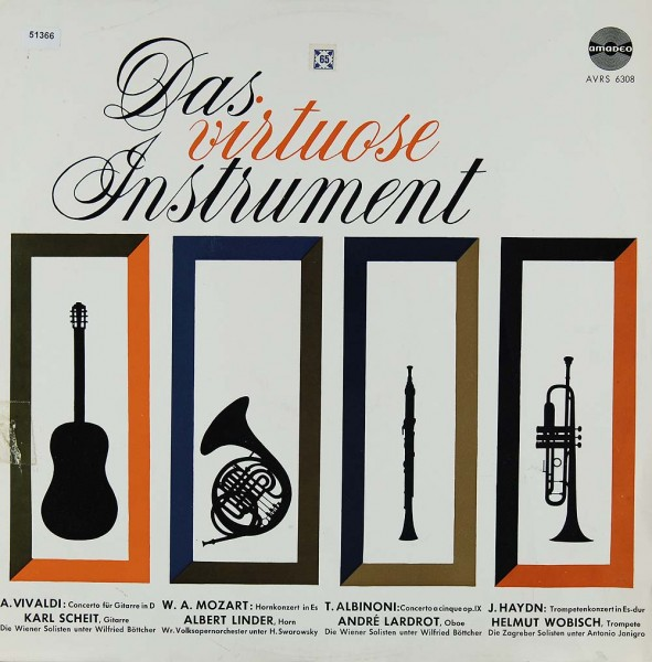 Verschiedene: Das virtuose Instrument