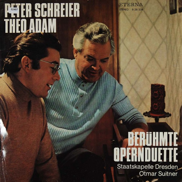 Schreier, Peter / Adam, Theo: Berühmte Opernduette