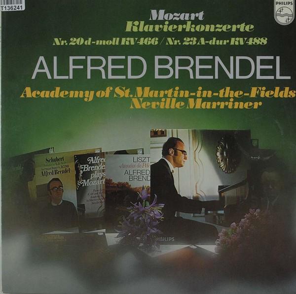 Wolfgang Amadeus Mozart - Alfred Brendel - T: Klavierkonzerte Nr. 20 D-moll KV 466 / Nr. 23 A-dur KV