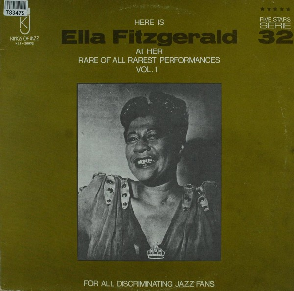 Ella Fitzgerald: Here Is Ella Fitzgerald At Her Rare Of All Rarest Perfor