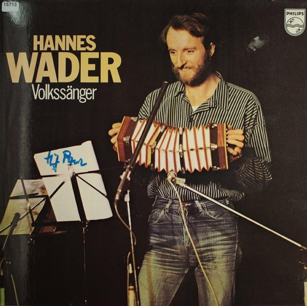 Wader, Hannes: Volkssänger
