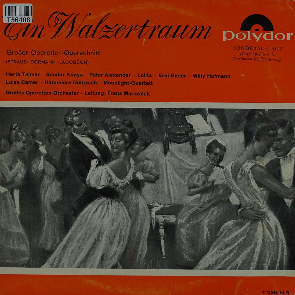 oscar straus ein walzertraum oper operette klassik gebrauchte lps und cds kaufen. Black Bedroom Furniture Sets. Home Design Ideas