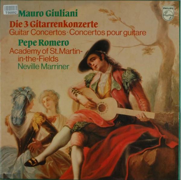 Mauro Giuliani (2), Pepe Romero, Sir Neville Marriner, Academy Of St. Martin-In-The-Fields, The: Giu