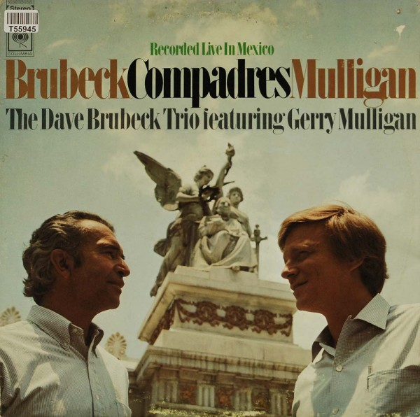 The Dave Brubeck Trio Featuring Gerry Mulligan: Compadres