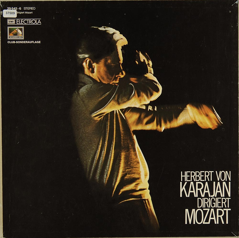 karajan herbert von karajan dirigiert mozart kammermusik klassik gebrauchte lps und cds. Black Bedroom Furniture Sets. Home Design Ideas