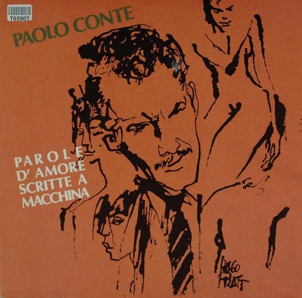 Paolo Conte: Parole D'Amore Scritte A Macchina