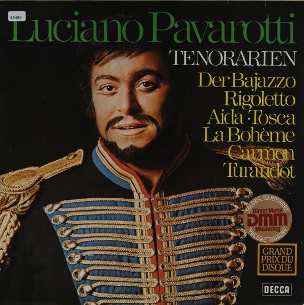 Pavarotti, Luciano: Tenorarien
