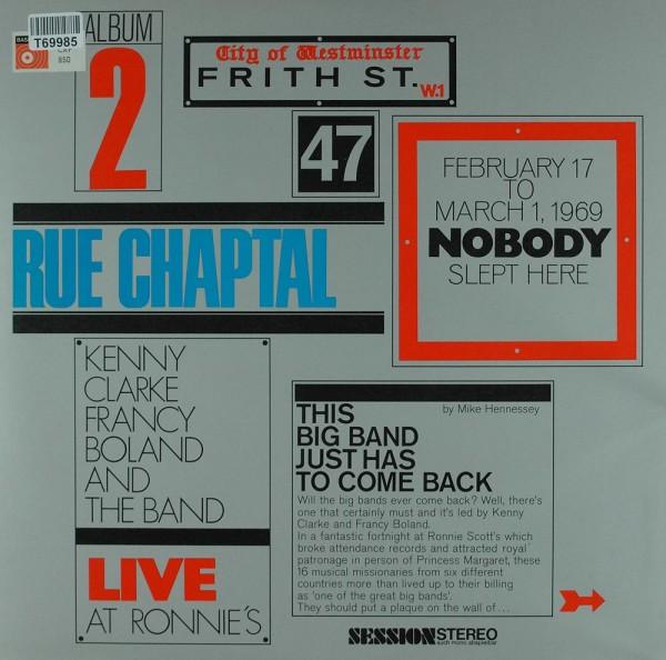 Clarke-Boland Big Band: Live At Ronnie's ; Album 2 ; Rue Chaptal