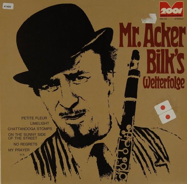 Bilk, Mr. Acker: Mr. Acker Bilk´s Welterfolge