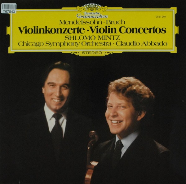 Felix Mendelssohn-Bartholdy • Max Bruch - S: Violinkonzerte • Violin Concertos