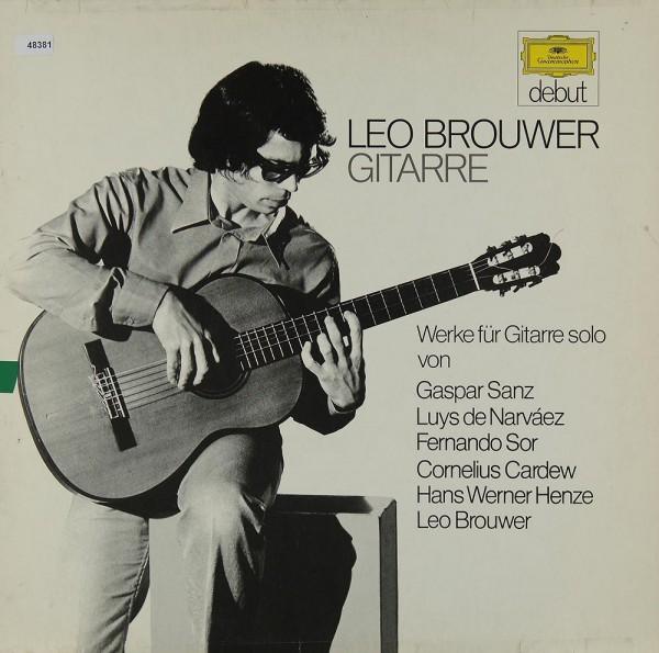 Brouwer, Leo: Gitarrenwerke von Sanz, Narváez, Sor u.a.