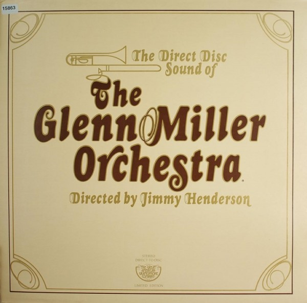 Miller, Glenn Orchestra: The Direct Disc Sound of the G. Miller Orchestra